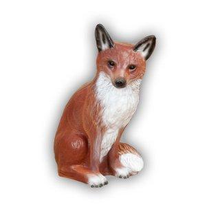 CP sitzender Fuchs