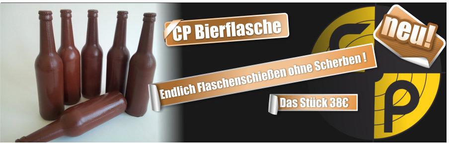 Neu CP Bierflasche