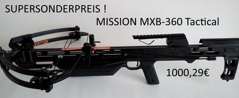 Mission MXB-360 Tactical
